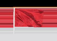 8 baniervlaggen (100 x 200 cm)