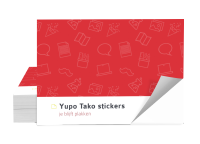 yupo tako stickers